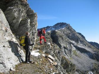 Passo di Antrona o di Saas (2837 m)