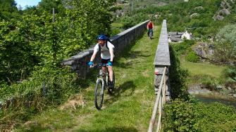 Il Ponte in pietra di Pontemaglio