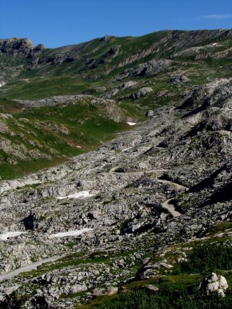 Altopiani carsici nella zona del Marguareis- Foto di Fabio Giannetti