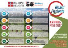 """Decalogo sicurezza rifugi per piano """"Riparti Piemonte"""""""