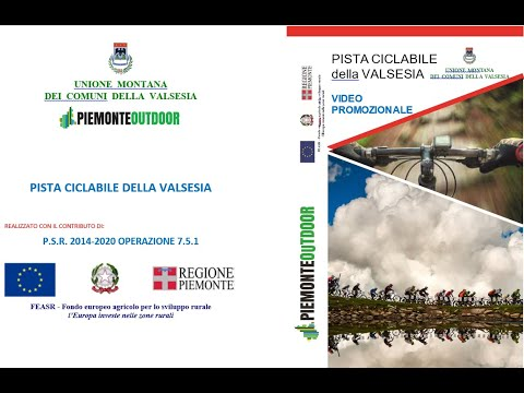 Embedded thumbnail for Ciclabile della Valsesia - Trailer